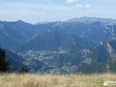 Andorra-País de los Pirineos; parque natural de las hoces del río duratón yacimiento arqueológico de
